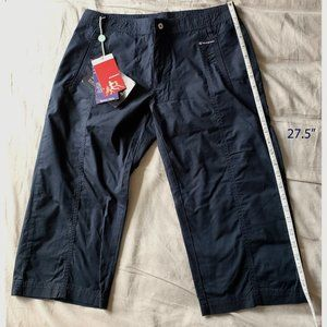Champion Cropped Pants (Size S, Navy)